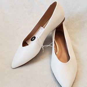 A New Day | High Vamp Ballet Flats | NWT